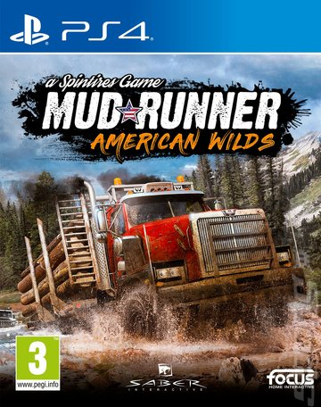 Spintires: MudRunner: American Wilds Edition - PS4 Cover & Box Art