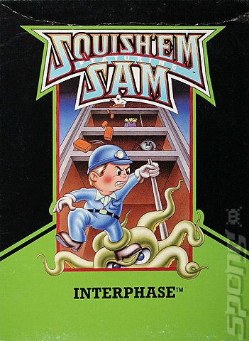 Squish 'Em - Colecovision Cover & Box Art