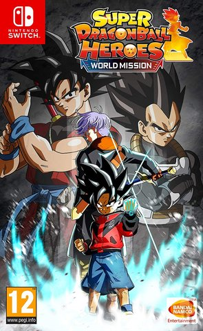 Super Dragon Ball Heroes: World Mission - Switch Cover & Box Art