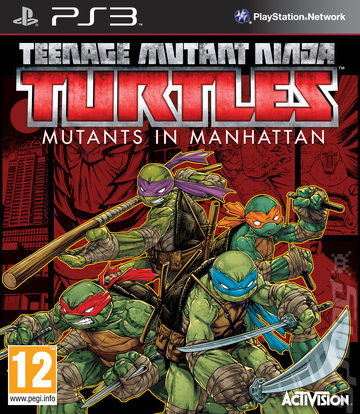 Teenage Mutant Ninja Turtles: Mutants in Manhattan - PS3 Cover & Box Art