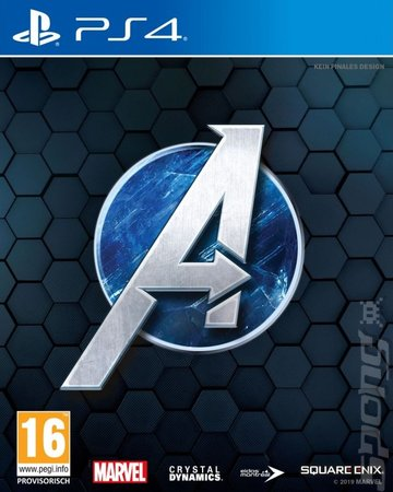 The Avengers - PS4 Cover & Box Art