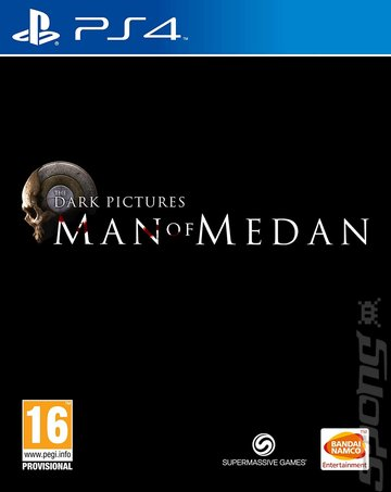 The Dark Pictures: Man Of Medan - PS4 Cover & Box Art