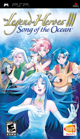 The Legend of Heroes III: Song of the Ocean - PSP Cover & Box Art