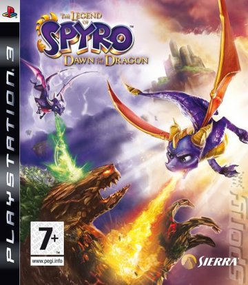 The Legend Of Spyro: Dawn Of The Dragon - PS3 Cover & Box Art