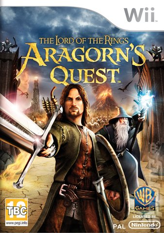The Lord of the Rings: Aragorn's Quest - Wii Cover & Box Art