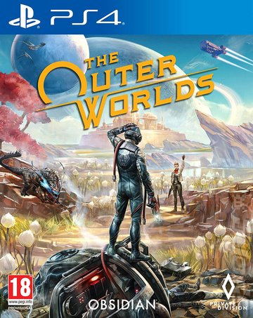 The Outer Worlds - PS4 Cover & Box Art