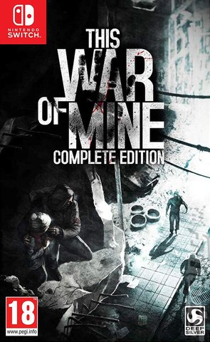 This War Of Mine - Switch Cover & Box Art