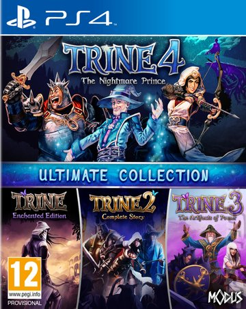 Trine Ultimate Collection - PS4 Cover & Box Art