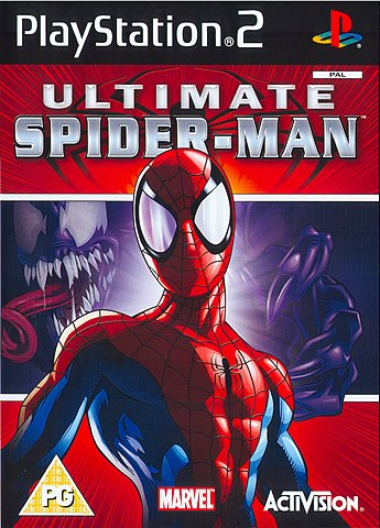 Ultimate Spider-Man - PS2 Cover & Box Art