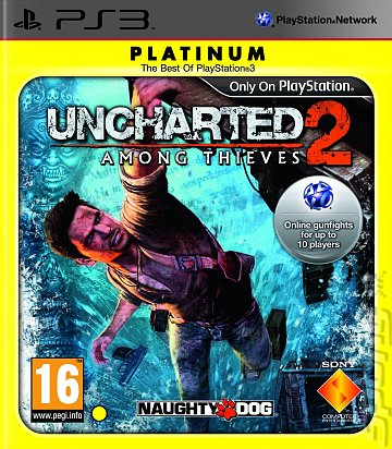 Covers & Box Art: Uncharted 2: Among Thieves - PS3 (3 of 8)Uncharted 2 Among Thieves Cover
