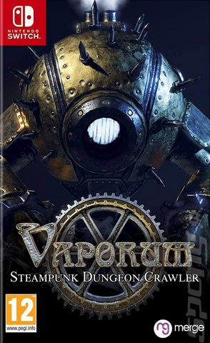Vaporum - Switch Cover & Box Art