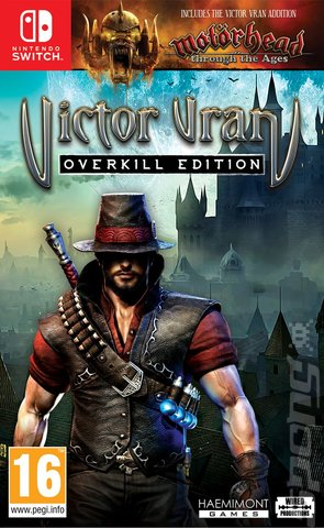 Victor Vran: Overkill Edition - Switch Cover & Box Art