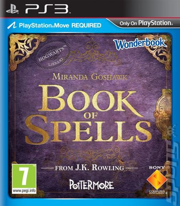 Wonderbook: Book of Spells Editorial image
