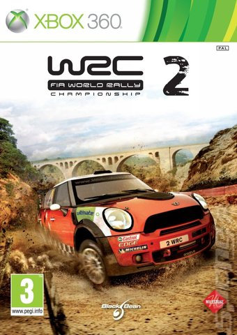 WRC 2: FIA World Rally Championship - Xbox 360 Cover & Box Art