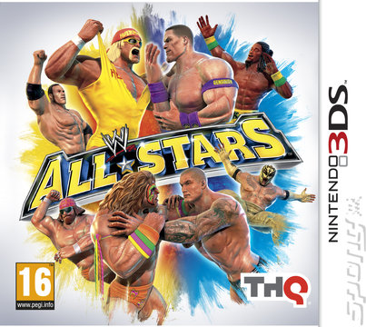 WWE All Stars - 3DS/2DS Cover & Box Art