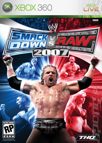 WWE Smackdown! Vs. RAW 2007 - Xbox 360 Cover & Box Art