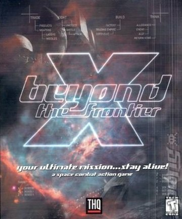 X: Beyond the Frontier - PC Cover & Box Art