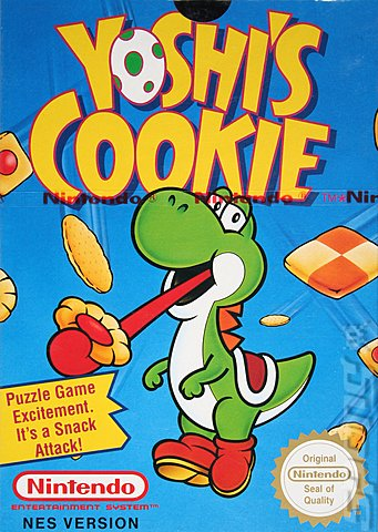 Yoshi's Cookie - NES Cover & Box Art
