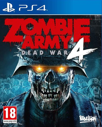 Zombie Army 4: Dead War - PS4 Cover & Box Art