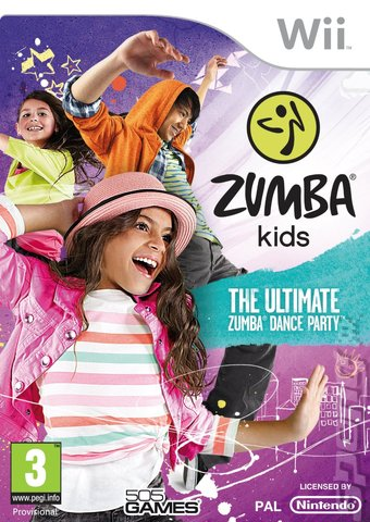 Zumba Kids - Wii Cover & Box Art