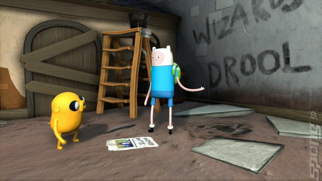 Adventure Time: Finn & Jake Investigations - PS3 Screen