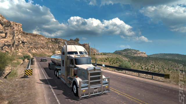 American Truck Simulator: New Mexico - PC Screen