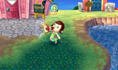 Animal Crossing: New Leaf - 3DS/2DS Screen
