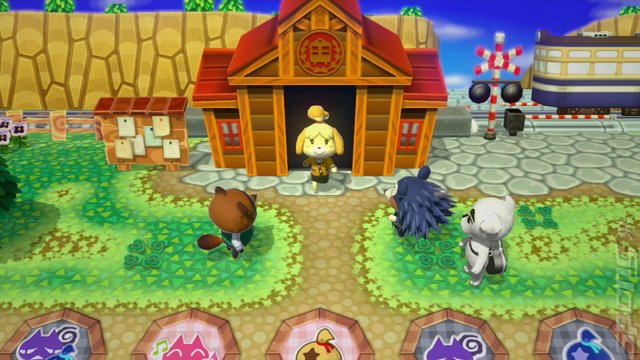 Animal Crossing: amiibo Festival - Wii U Screen