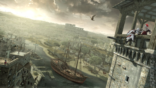 Assassin's Creed Brotherhood: The Da Vinci Edition - Xbox 360 Screen
