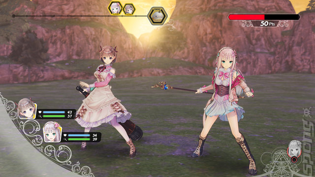 Atelier Lulua: The Scion of Arland - Switch Screen