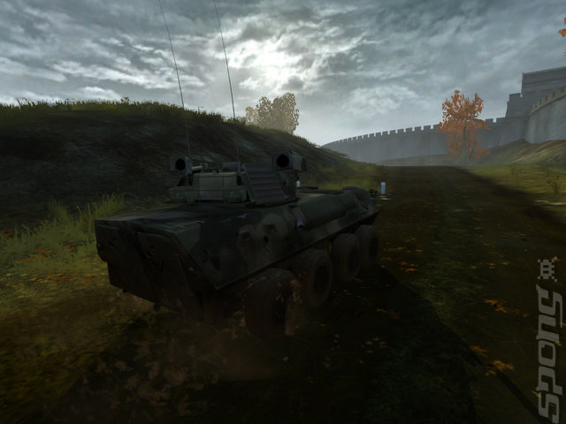 Battlefield 2 Euro Forces Booster Pack - PC Screen
