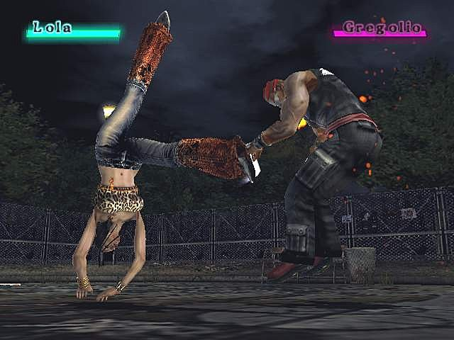 Beat Down: Fists of Vengeance - PS2 Screen