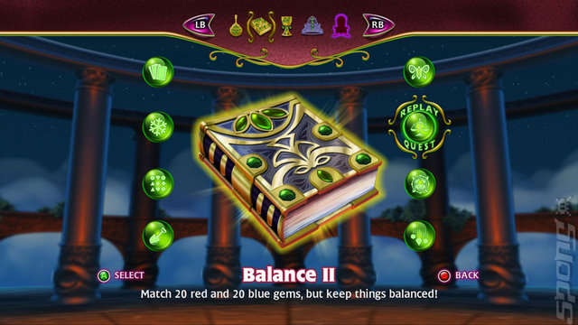 Bejeweled 3 - PC Screen