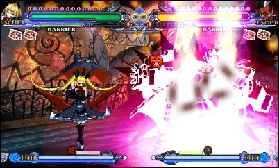 BlazBlue: Continuum Shift 2 - 3DS/2DS Screen
