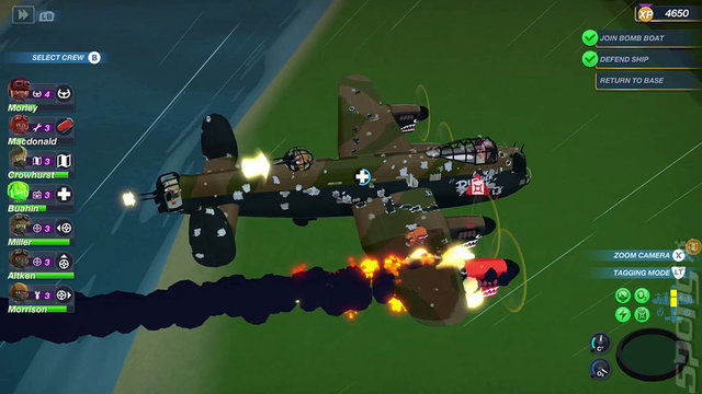Bomber Crew: Complete Edition - PS4 Screen