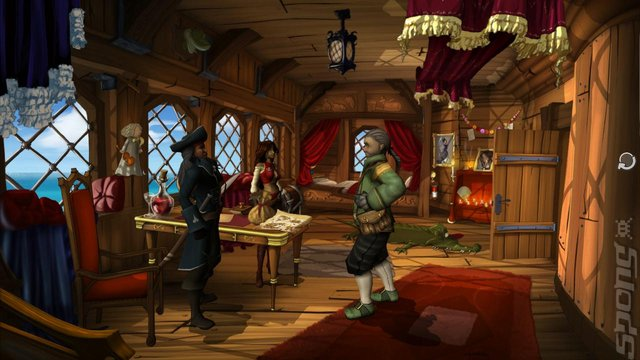 Captain Morgane and the Golden Turtle - PS3 Screen