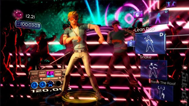 Dance Central - Xbox 360 Screen