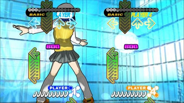 Dancing Stage Universe - Xbox 360 Screen
