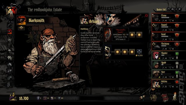 Darkest Dungeon - PS4 Screen