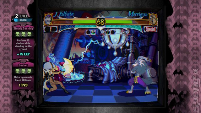Darkstalkers Resurrection - PS3 Screen