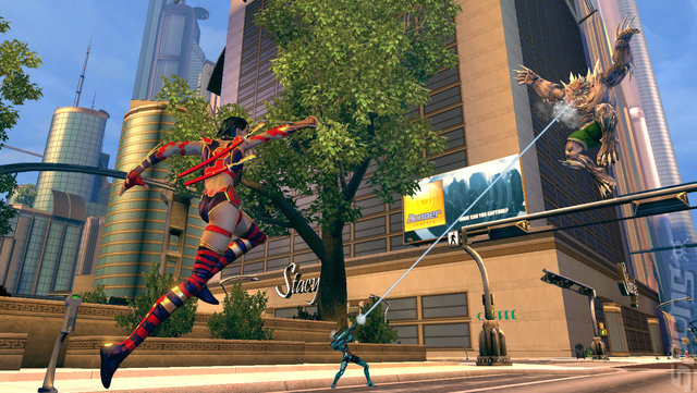DC Universe Online Editorial image