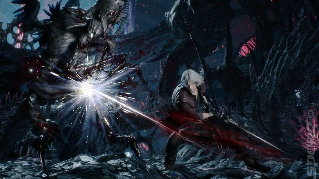 Devil May Cry 5 - PS4 Screen