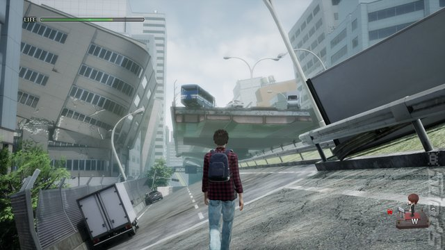 Disaster Report 4: Summer Memories - PS4 Screen