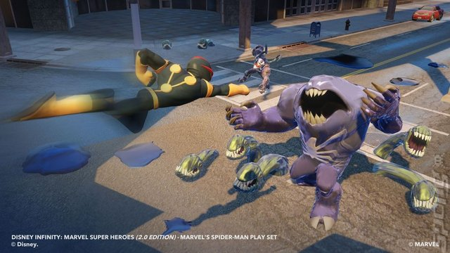 Disney Infinity - PS3 Screen