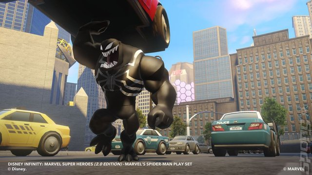 Disney Infinity - Xbox 360 Screen