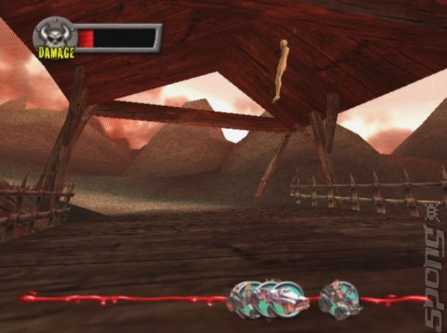 Earache: Extreme Metal Racing - PS2 Screen
