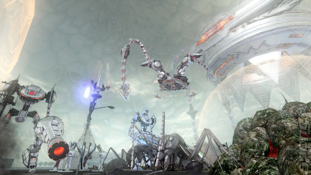 Earth Defense Force 2025 - Xbox 360 Screen