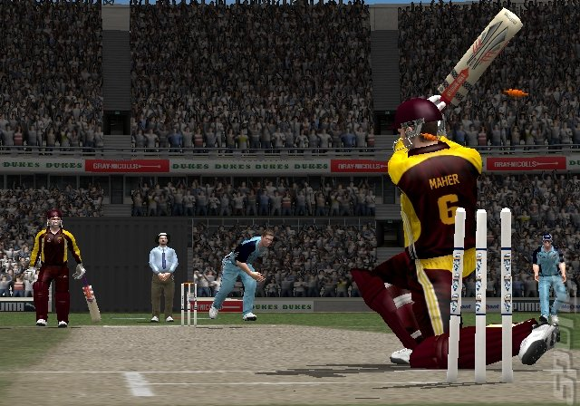 EA Sports Cricket 07 - PS2 Screen