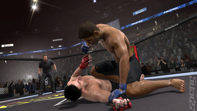 EA Sports MMA - Xbox 360 Screen