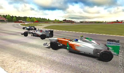F1 2011 - 3DS/2DS Screen
